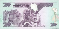 20 Shilingi TANZANIE  1986 P.12 NEUF