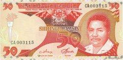 50 Shilingi TANZANIE  1986 P.16a NEUF
