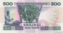 500 Shilingi TANZANIE  1989 P.21a NEUF