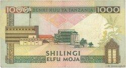1000 Shilingi TANZANIE  1990 P.22 TB