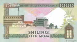 1000 Shilingi TANZANIE  1990 P.22 SPL