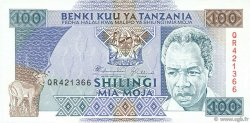 100 Shilingi TANZANIE  1993 P.24 NEUF
