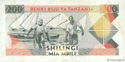 200 Shilingi TANZANIE  1993 P.25b TTB