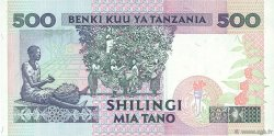 500 Shilingi TANZANIE  1993 P.26b TTB+