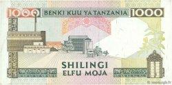 1000 Shilingi TANZANIE  1993 P.27b TTB