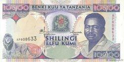 10000 Shilingi TANZANIE  1995 P.29 SPL