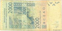 2000 Francs COTE D