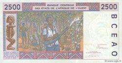 2500 Francs type 1992 COTE D