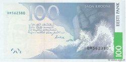100 Krooni ESTONIE  2007 P.88a NEUF