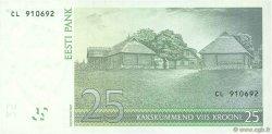 25 Krooni ESTONIE  2007 P.87b NEUF