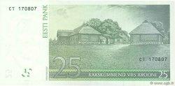 25 Krooni ESTONIE  2007 P.87b SPL