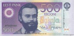 500 Krooni ESTONIE  1994 P.80a pr.NEUF