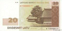 20 Latu LETTONIE  2007 P.55a NEUF