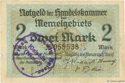 2 Mark MEMEL  1922 P.03a TTB