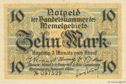 10 Mark MEMEL  1922 P.05a SPL