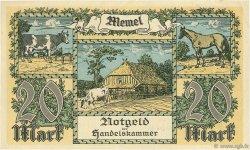 20 Mark MEMEL  1922 P.06a pr.SUP