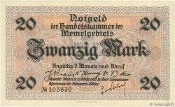 20 Mark MEMEL  1922 P.06a SPL