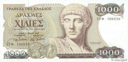 1000 Drachmes GRÈCE  1987 P.202a SPL+
