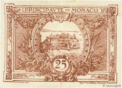 25 Centimes MONACO  1920 P.01a SUP