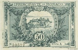 50 Centimes MONACO  1920 P.03a pr.SUP