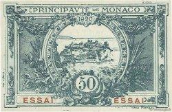 50 Centimes MONACO  1920 P.03r NEUF
