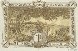 1 Franc MONACO  1920 P.04a pr.NEUF