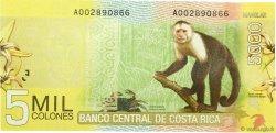 5000 Colones COSTA RICA  2009 P.276 NEUF