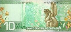 10000 Colones COSTA RICA  2009 P.277 NEUF