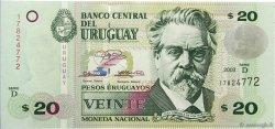 20 Pesos Uruguayos URUGUAY  2003 P.083A NEUF