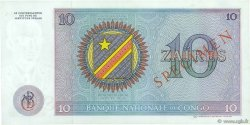 10 Zaïres CONGO (RÉPUBLIQUE)  1971 P.015s pr.NEUF
