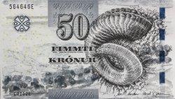 50 Kronur ÎLES FEROE  2011 P.29 NEUF