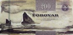 200 Kronur ÎLES FEROE  2011 P.31 NEUF