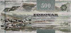 500 Kronur ÎLES FEROE  2011 P.32 NEUF