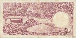 1 pound GHANA  1958 P.02a TB+