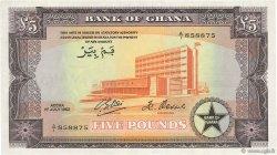 5 pounds GHANA  1962 P.03d NEUF