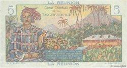 5 Francs Bougainville ÎLE DE LA RÉUNION  1946 P.41a pr.NEUF