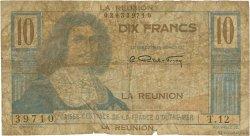 10 Francs Colbert ÎLE DE LA RÉUNION  1946 P.42a AB