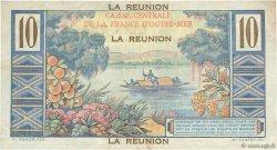 10 Francs Colbert ÎLE DE LA RÉUNION  1946 P.42a TTB+