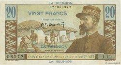 20 Francs E.Gentil ÎLE DE LA RÉUNION  1946 P.43a TTB+