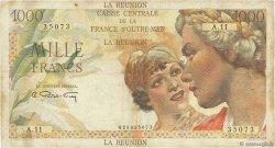 1000 Francs Union Française ÎLE DE LA RÉUNION  1946 P.47a TB