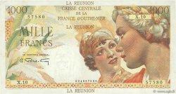 1000 Francs Union Française ÎLE DE LA RÉUNION  1946 P.47a TTB