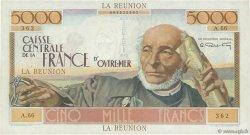 5000 Francs Schoelcher ÎLE DE LA RÉUNION  1946 P.48a TTB