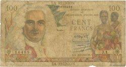 100 Francs La Bourdonnais ÎLE DE LA RÉUNION  1960 P.49a B