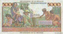 5000 Francs Schoelcher ÎLE DE LA RÉUNION  1964 P.53a TTB