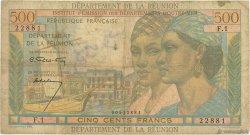 500 Francs Pointe à Pitre ÎLE DE LA RÉUNION  1964 P.51a B