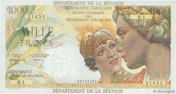 1000 Francs Union Française ÎLE DE LA RÉUNION  1964 p.52a SUP+