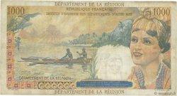 20 NF sur 1000 Francs Union Française ÎLE DE LA RÉUNION  1967 P.55a TB