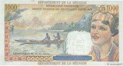 20 NF sur 1000 Francs Union Française ÎLE DE LA RÉUNION  1967 P.55a pr.SPL