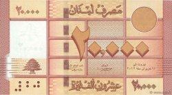 20000 Livres LIBAN  2012 P.93 NEUF