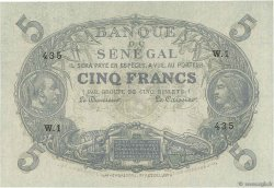 5 Francs Cabasson SÉNÉGAL  1874 P.A1 SPL+
